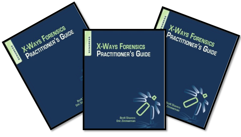 The X-Ways Forensics Practitioners Guide is available in Kindle!