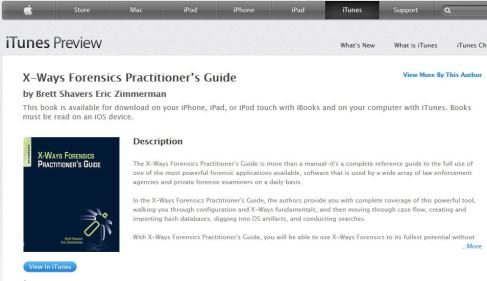 Cool. Download the XWF Guide to your iPad, iPhone, iTouch, or iPod